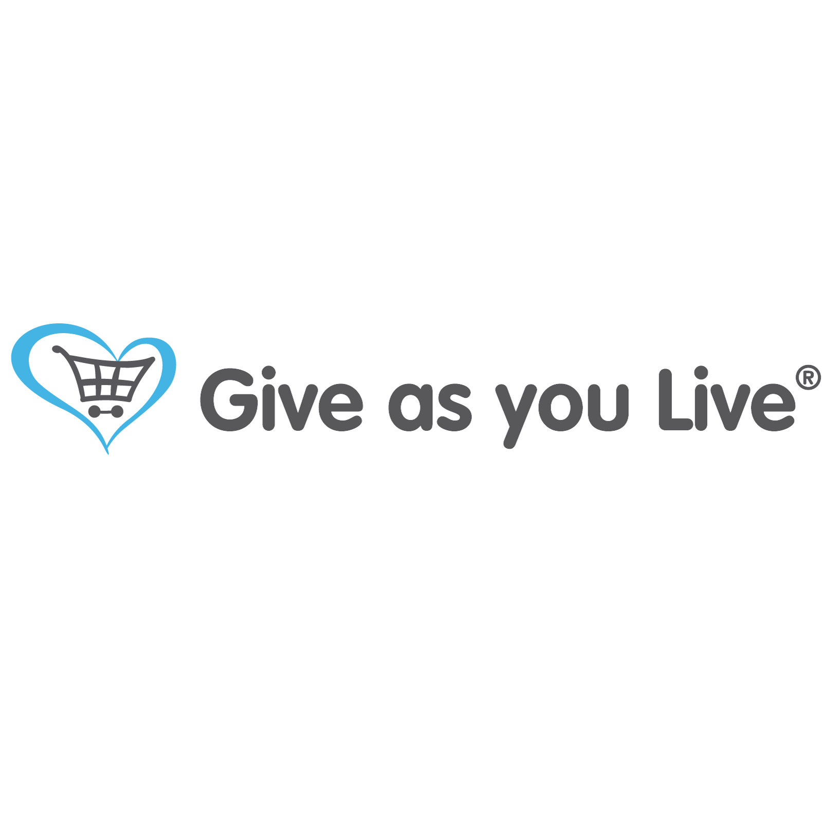 Give as you live logo (charity)
