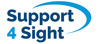 Support for sight logo