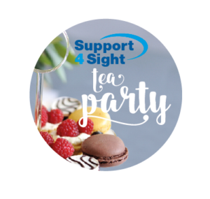 Support for sight Tea party logo