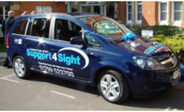 Support 4 Sight Car
